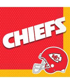 NFL Luncheon Napkins: Kansas City Chiefs (16pk.)