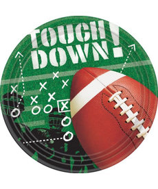 "Amscan 9"" Lunch Plates: Football Frenzy (50ct.)"