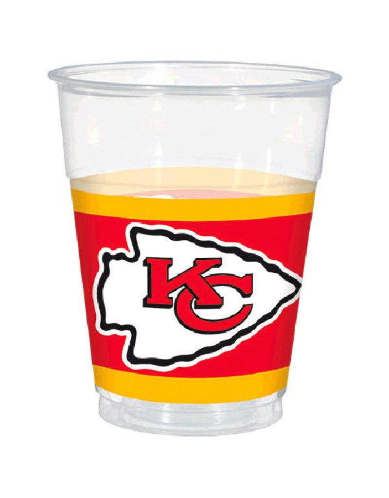 NFL 16oz. Plastic Cups: Kansas City Chiefs (25pk.)