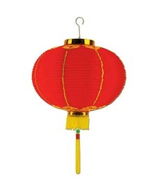 "8"" Good Luck Lantern w/ Tassel"