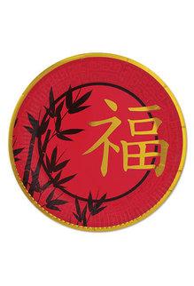 "9"" Round Plates: Asian Plates (8pk.)"