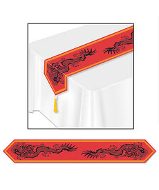 "Printed Asian Table Runner (11"" x 6')"