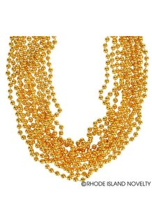 Bundle of Beads: Gold (12ct.)