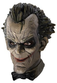Rubies Costumes Deluxe Adult The Joker Latex Mask: Arkham City