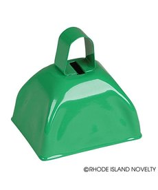 "3"" Green Metal Cowbell"