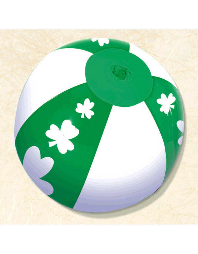"""7"""" St. Patrick's Day Mini Parade Inflatable Ball"""