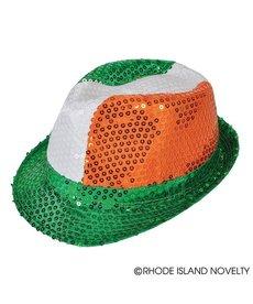 Irish Sequin Fedora