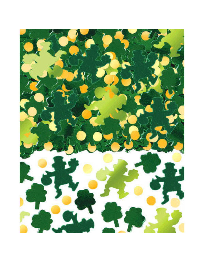 (2.5oz.) Confetti: Leprechaun/Shamrocks