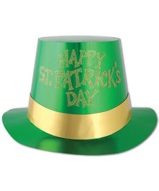 Paper Top Hat - Happy St. Pat's Day