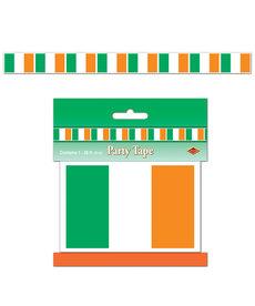 "Party Tape: Irish Flag (3""x20')"