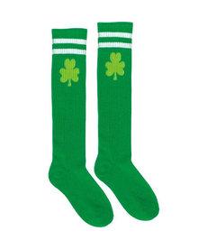 Shamrock Knee High Tube Socks
