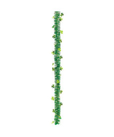 Shamrocks Value Tinsel Garland
