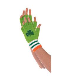 St. Patrick's Day Fingerless Gloves