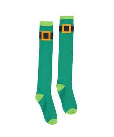 St. Patrick's Day Knee High Socks: Leprechaun Belt