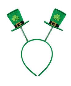 St. Patrick's Day Top Hat Headbopper