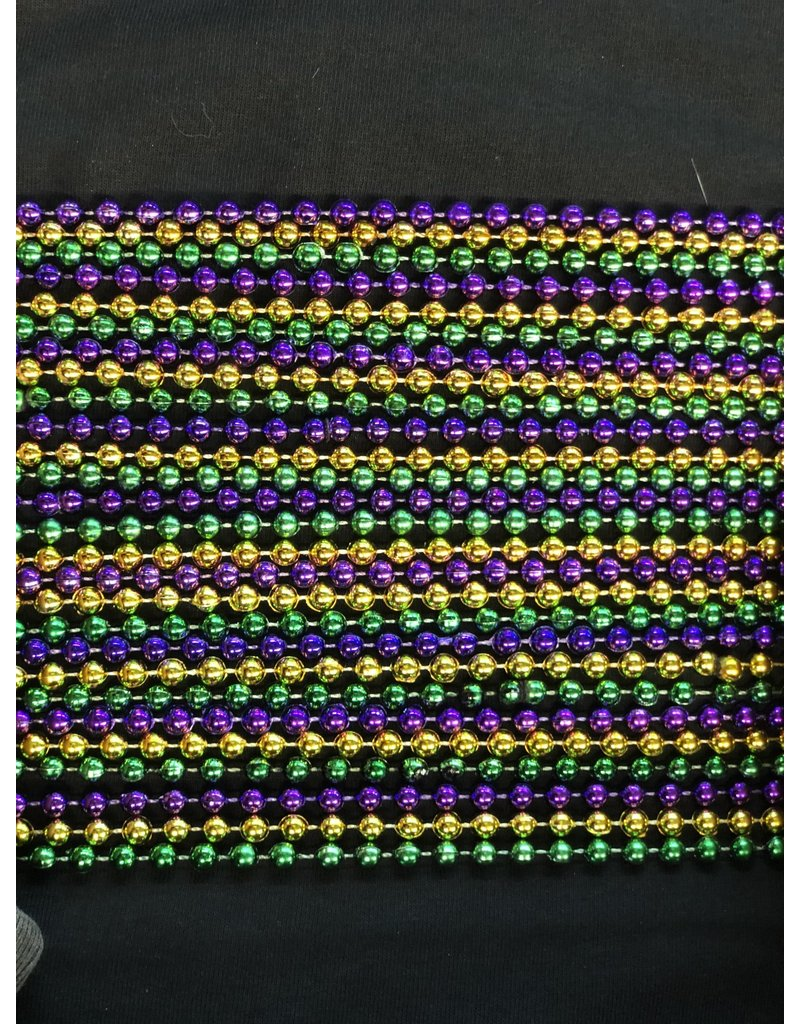 Bag Of Beads (120 Count) - Purple/Green/Gold