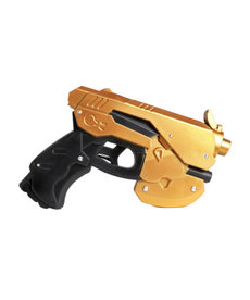 Foam Anime Pistol Gun: Gold