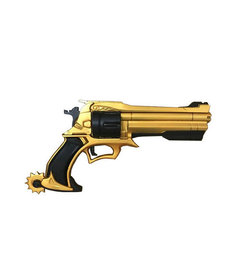 Foam Revolver Gun: Gold