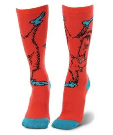 elope Dr. Seuss Fox in Socks Knee High Socks: Adult