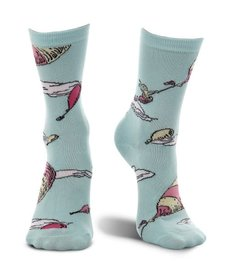elope Dr. Seuss Oh the Places You'll Go! Crew Socks: Adult