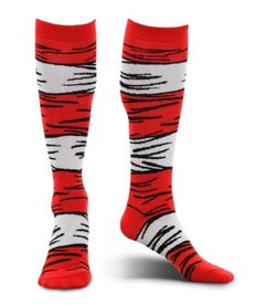 elope Dr. Seuss The Cat in the Hat Knee High Costume Socks: Kids