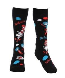 Dr. Seuss The Cat In The Hat Pattern High Socks: Kids