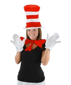 elope Dr. Seuss The Cat in the Hat Accessory Kit: Adult