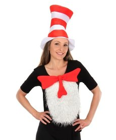 elope Dr. Seuss The Cat in the Hat Unisize Insta-Tux Kit