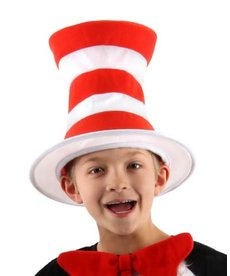 elope Dr. Seuss The Cat in the Hat Tricot Plush Hat: Kids