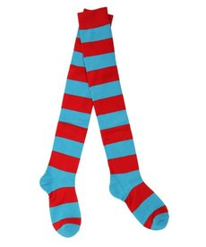 Dr. Seuss The Cat in the Hat Thing 1&2 Striped Socks