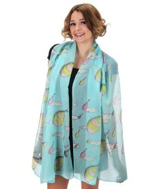 elope Dr. Seuss Oh the Places You'll Go! Lightweight Scarf