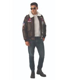 Rubies Costumes Men's Top Gun Deluxe Bomber Jacket