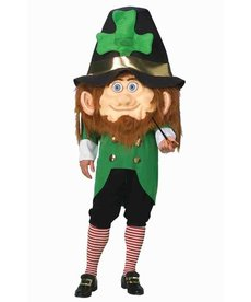 Adult Oversized Leprechaun Mascot Costume
