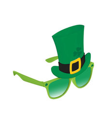 St. Patrick's Day Top Hat Fun Shades