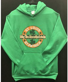 Two Favorite Saints, St. Louis & St. Patrick Hoodie