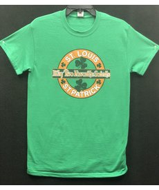 Two Favorite Saints, St. Louis & St. Patrick Tee