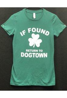 Bella Ladies T-Shirt: If Found Return to Dogtown