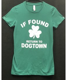 If Found Return to Dogtown Ladies Tee