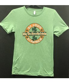 Two Favorite Saints, St. Louis & St. Patrick (Supersoft) Tee