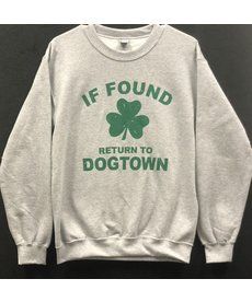 If Found Return to Dogtown (Grey) Sweatshirt