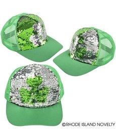 St. Pat's Day Flip Sequin Trucker Hat
