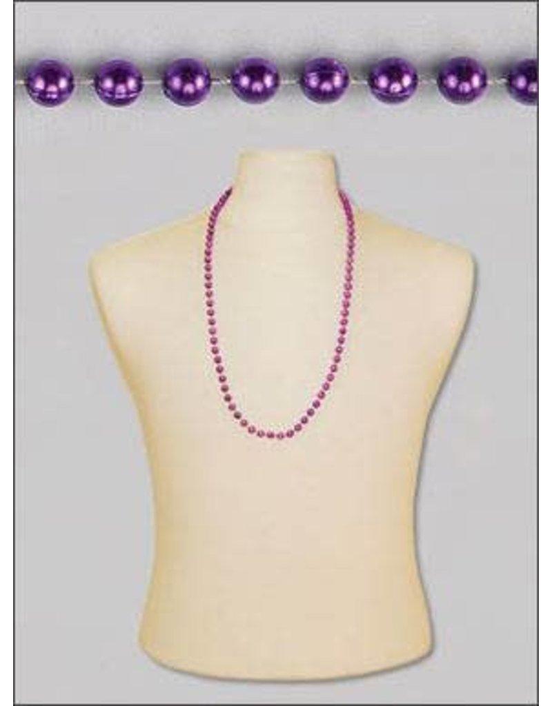 Case of Throw Beads: Purple
