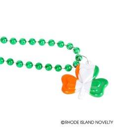 Irish Flag Shamrock Beads (12ct.)