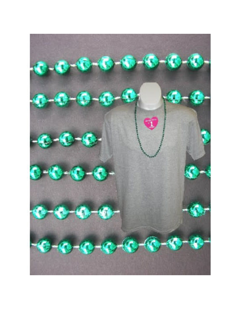 Case of Throw Beads (720 Beads): Green