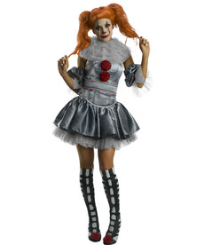 Rubies Costumes Women's Female Pennywise Costume (IT)