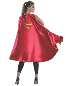 Rubies Costumes Adult Deluxe Supergirl Cape