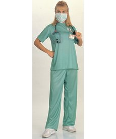 Rubies Costumes Women's E.R. Doctor Costume
