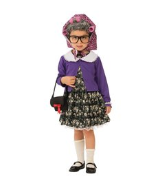 Rubies Costumes Kids Little Old Lady Costume