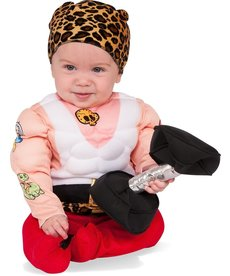 Rubies Costumes Baby Muscle Man Costume