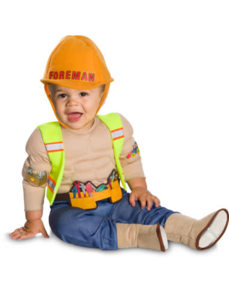 Rubies Costumes Rubies Lil' Construction Worker Costume: Infant & Toddler